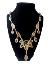 Citrine Waterfall Necklace