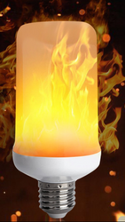 5G EMF Support Flame Bulb