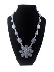 Kyanite Pretty Petals Necklace