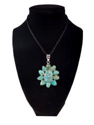Sea of Turquoise Pendant