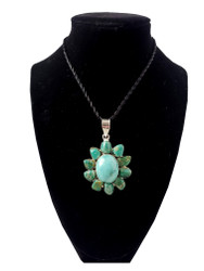 Turquoise To The Max Pendant