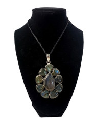 In a Bed Of Labradorite Pendant