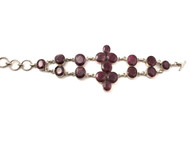 Ruby Petals Bracelet
