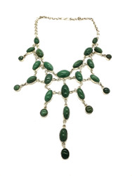 Luscious Green Forest Necklace