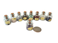 Gemstone Collection of 9 Bottles