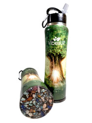 NEW 34oz ENCHANTED TREE EARTH on the BOTTOM Bottle