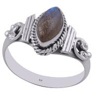 Majestic Labradorite Ring