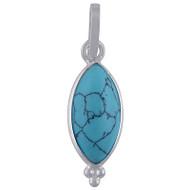 Petite Turquoise Dew Drops Pendant