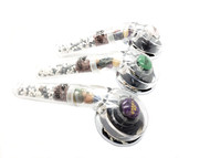 Nature's Waterfall Ion Therapy Gemstone Shower Head