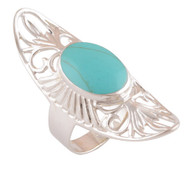 Turquoise Exotic Egypt Ring