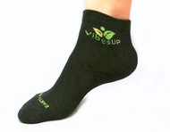 Ankle Bamboo Charcoal Earth ion Sock