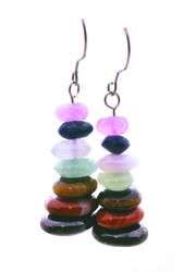 Chakra Balance Tower Earrings