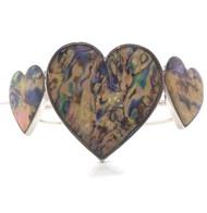 Abalone Heart Bracelet