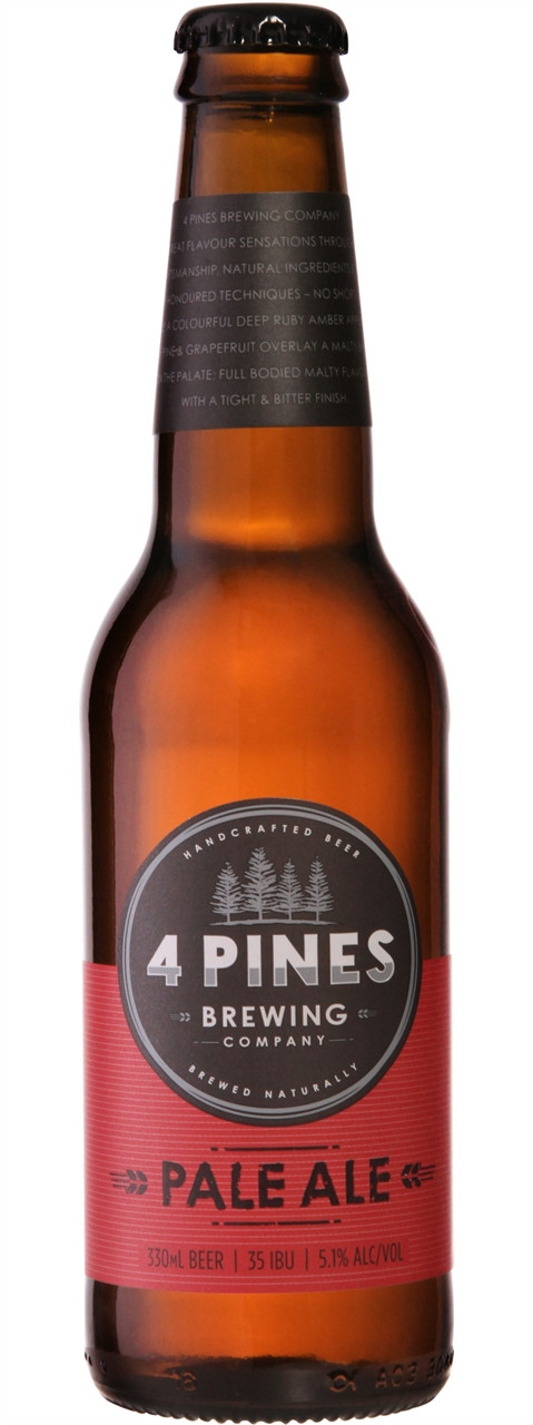 4 Pines Brewing Company Pale Ale 330ml Bottles
