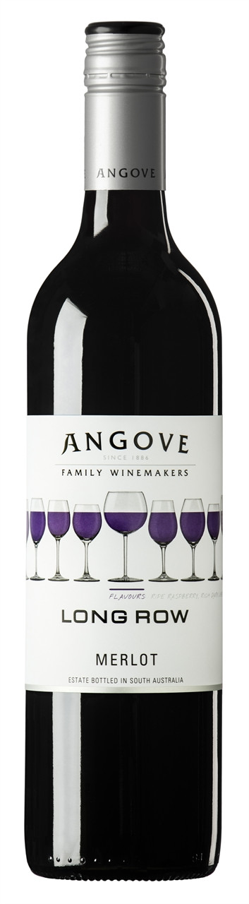 Angove Long Row Merlot 750ml