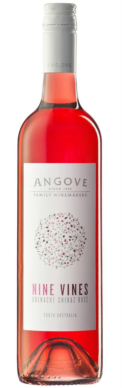 Angove Nine Vines Rose 750ml