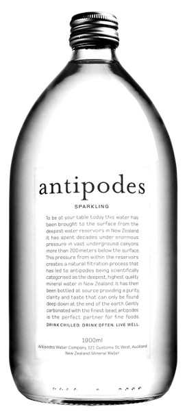 Antipodes Sparkling Water 6 x 1lt Bottles