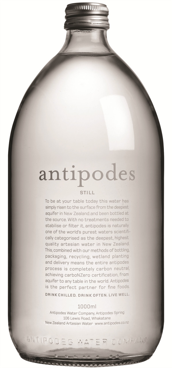 Antipodes Still Water 6 x 1lt Bottles
