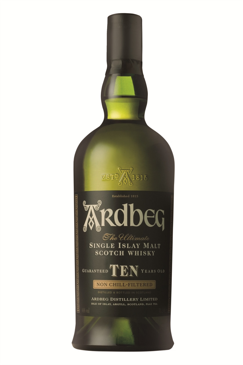 Ardbeg Ten Year Old Single Islay Malt Scotch Whisky 700ml