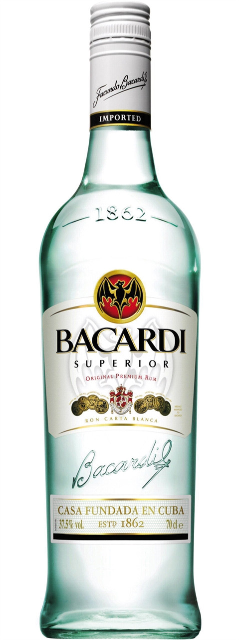 Bacardi White Rum  700ml