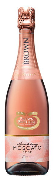 Brown Brothers Sparkling Moscato Rose 750ml