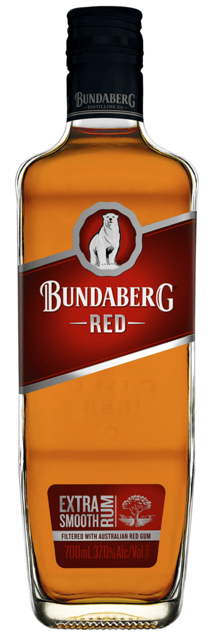 Bundaberg Red Extra Smooth Rum 700ml