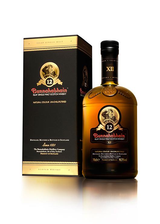 Bunnahabhain 12 Year Old Malt Whisky 700ml