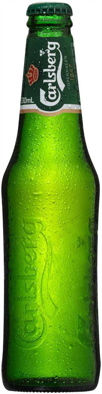 Carlsberg Green Beer 24 x 330ml Bottles