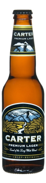 Carter Premium Lager 24 x 330ml Bottles