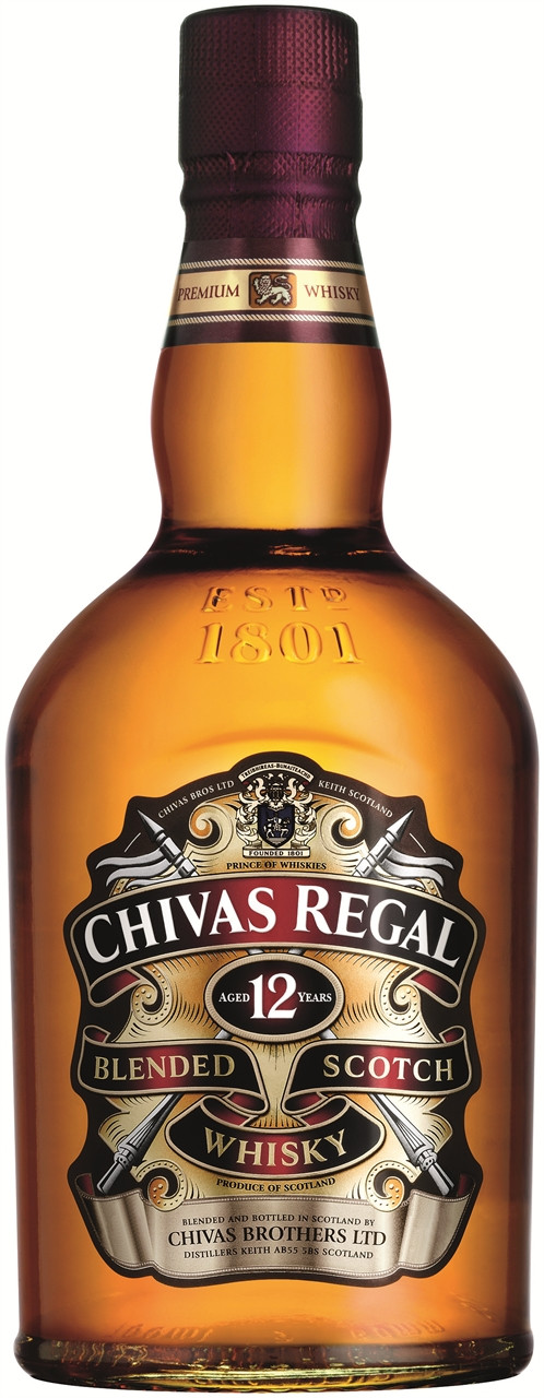 Chivas Regal 12 Year Old Scotch 700ml