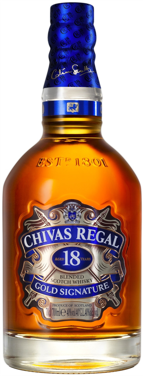 Chivas Regal 18 Year Old Scotch Whisky 700ml
