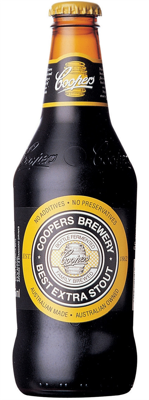 Coopers Best Extra Stout 375ml Bottles
