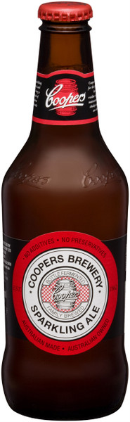 Coopers Sparkling Ale 24 x 375ml Bottles