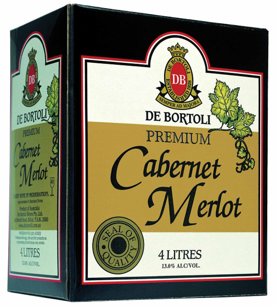 De Bortolis Premium Cabernet Merlot 4lt Cask