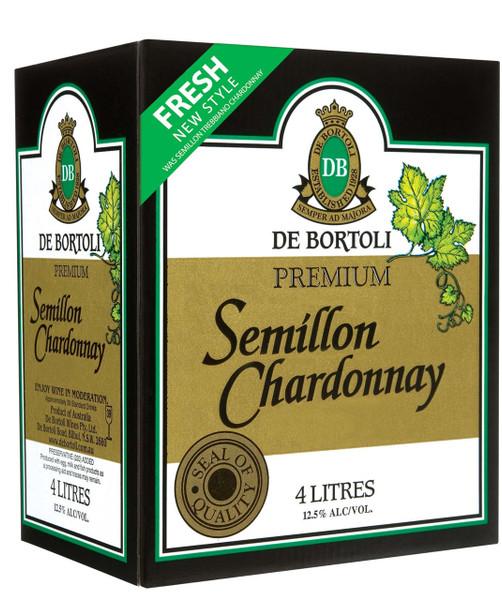 De Bortolis Premium Semillon Chardonnay 4lt Cask