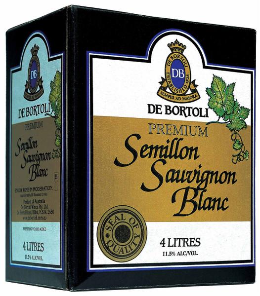 De Bortolis Premium Semillon Sauvignon Blanc 4lt Cask