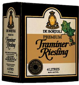 De Bortolis Premium Traminer Riesling 4lt Cask