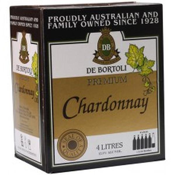 De Bortolis Premium Chardonnay 4lt Cask
