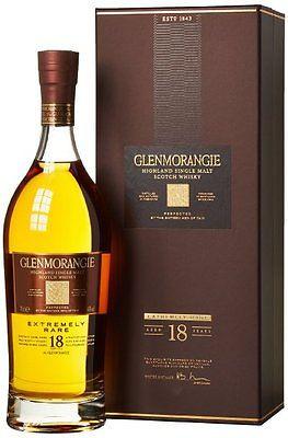 Glenmorangie 18 Year Old Malt Whisky 700ml