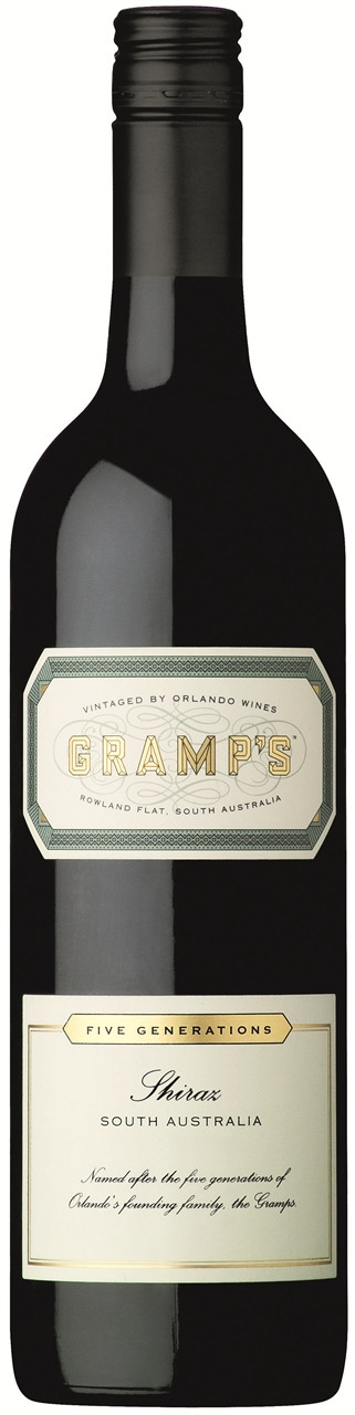 Gramps Shiraz 750ml