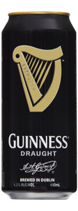 Guinness Draught 24 x 440ml Cans