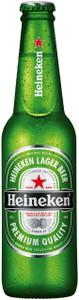 Heineken Lager (Imported) 24 x 330ml Bottles