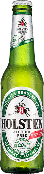 Holsten Alcohol Free Beer 24 x 330ml Bottles
