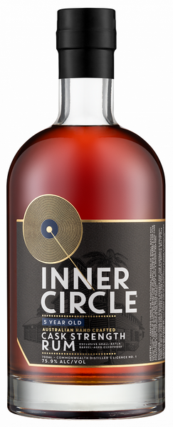 Inner Circle Black Label OP Rum 700ml