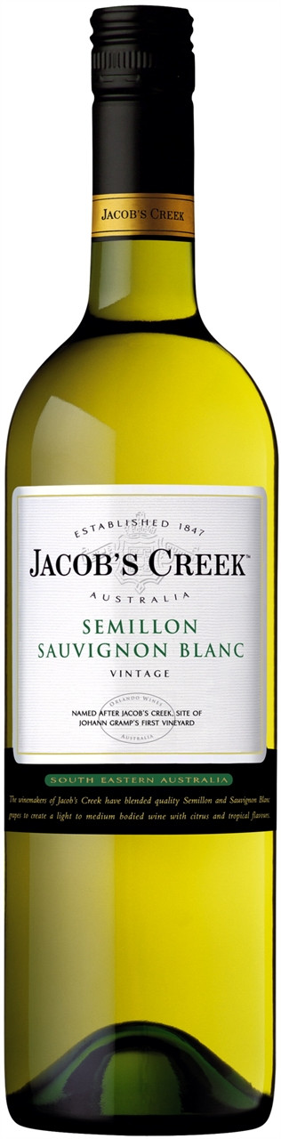 Jacobs Creek Semillon Sauvignon Blanc 750ml