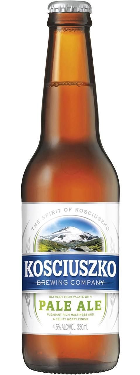 Kosciuszko Brewing Company Pale Ale 330ml Bottles