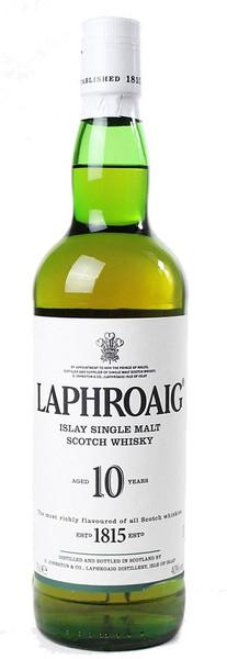 Laphroaig 10 Year Old Malt Whisky 700ml