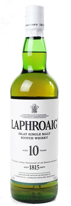 Laphroaig 10 Year Old Malt Whisky 700ml
