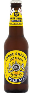 Lord Nelson Brewery 3 Sheets Pale Ale 330ml Bottles
