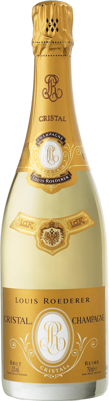 Louis Roederer Cristal Vintage 2007 Champagne 750ml (Gift Boxed)
